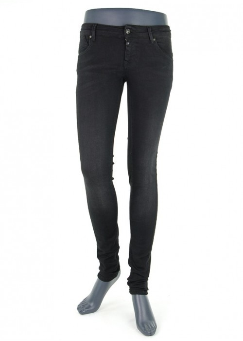 Gina Black Vintage Super Skinny Jeans Mädchen