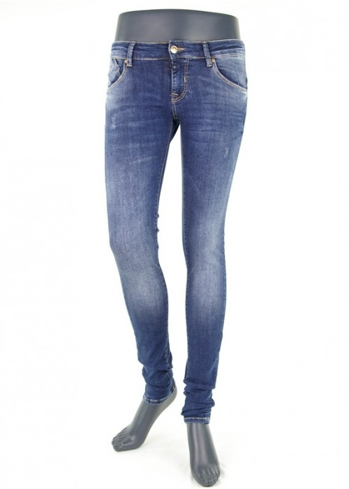 Gina Sapphire Blue Enge Jeans Mädchen
