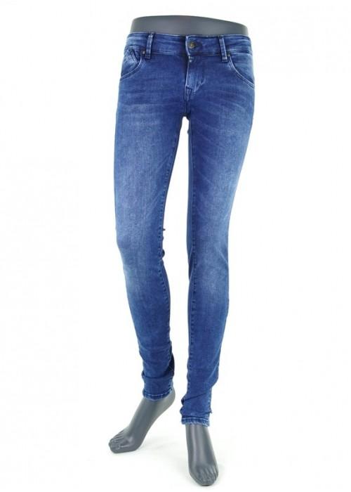 Gina Cobalt Vintage Blue Super Skinny Jeans Mädchen
