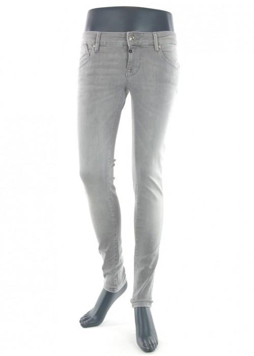Gina Stone Grey Vintage Super Skinny Jeans Mädchen
