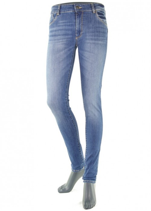 Emily Medium Blue High Waist Jeans Mädchen