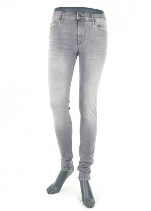 Mädchen Jeans High Waist Sophia Dark Grey Vintage Reshape
