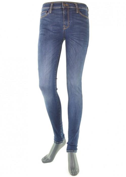 Mädchen Jeans High Waist Sophia Dark Vintage Blue Reshape