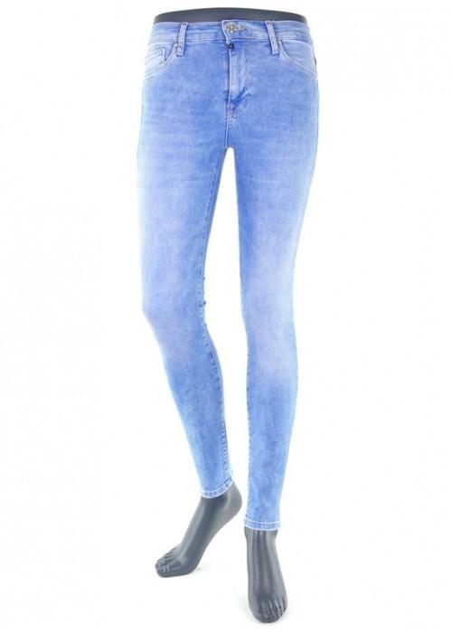 Sophia Ceramic Blue Reshape High Waist Mädchen Jeans