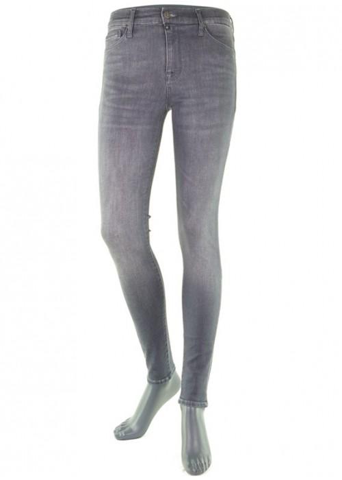 High Waist Mädchern Jeans Sophia Smoke Grey