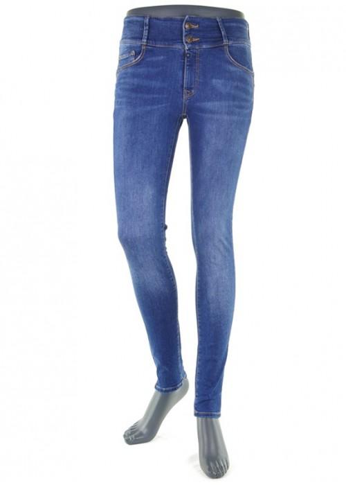 Tess Bright Blue High Waist Mädchen Jeans