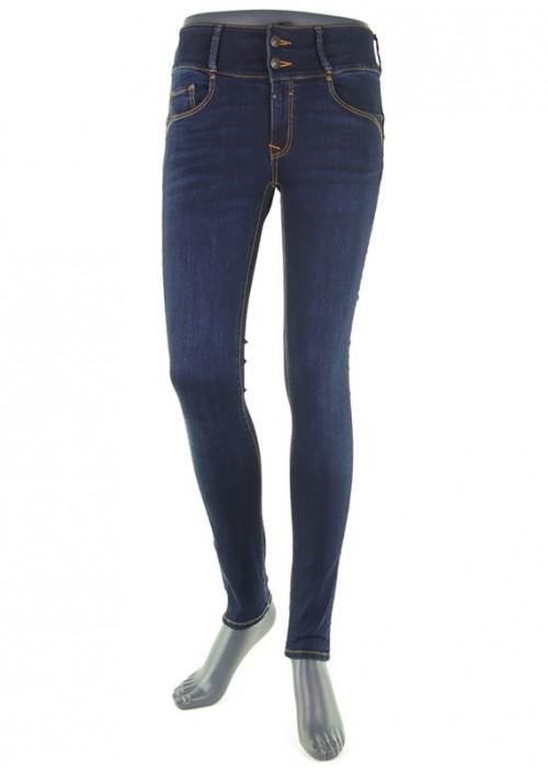 Tess Dark Blue High Waist Jeans