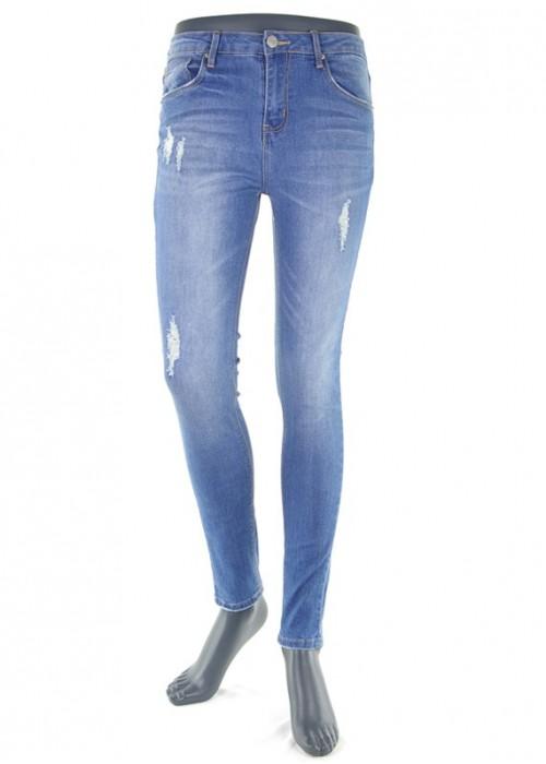 Valeria High Waist Jeans Blue