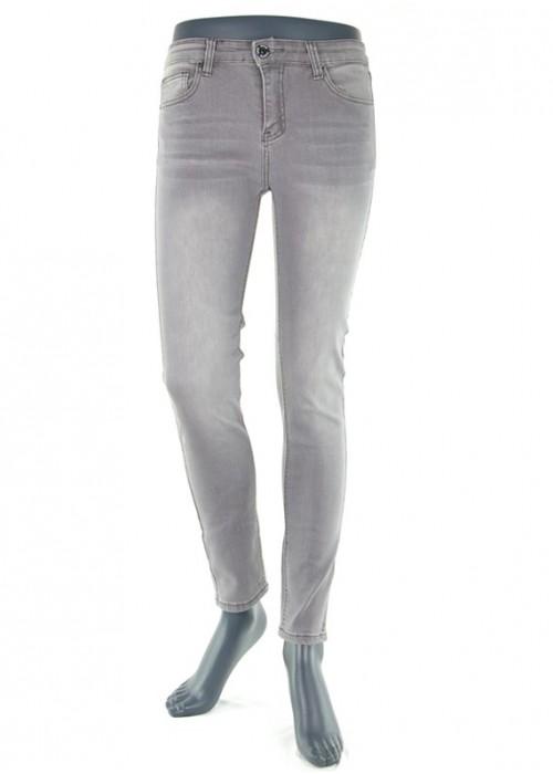 Valeria High Waist Jeans Grau