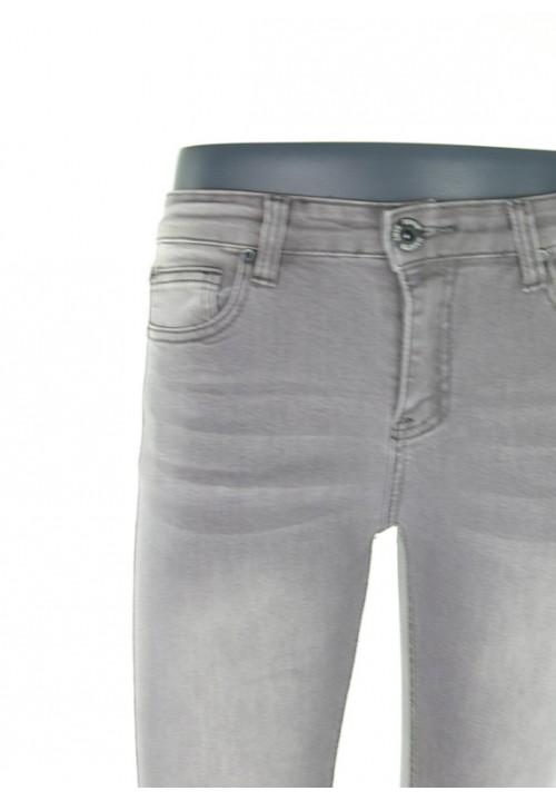 Valeria Grey Denim Jeans