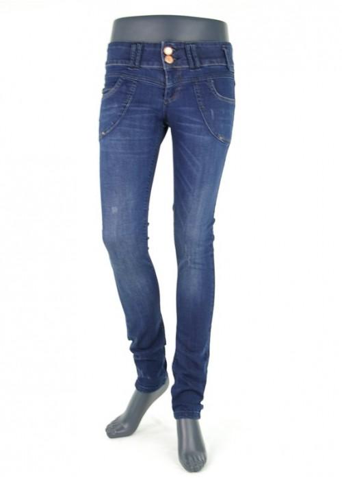 Lisa Ally Blau Super Skinny Jeans Mädchen