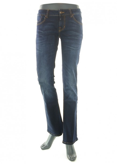 Kim Dark Blue Vintage Bootcut Jeans Mädchen