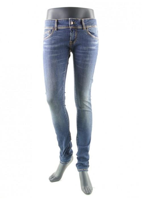 Amy Dark Vintage Blue Skinny Jeans Mädchen