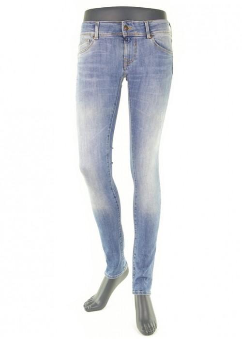 Amy Medium Blue enge Jeans für Mädchen