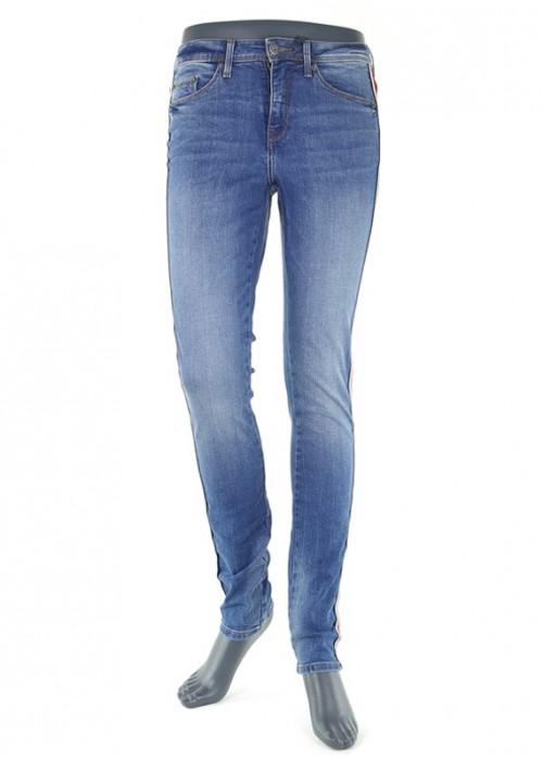 Blend She Bright Colon Medium Blue enge Jeans für Mädchen