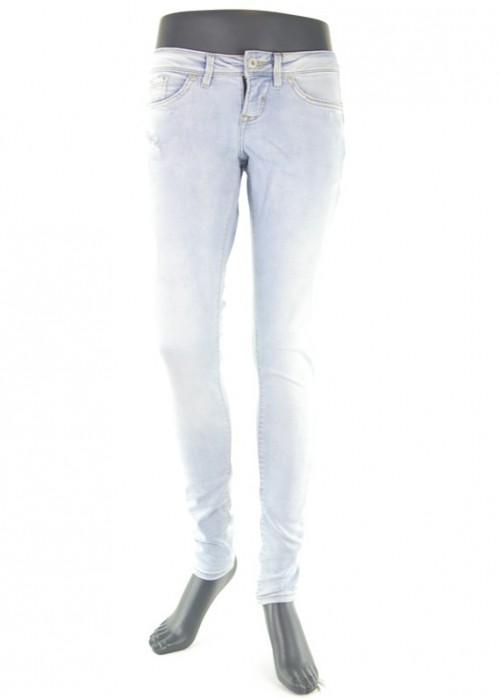 Bseda Nova Jeans Bleached Blue Denim Skinny Jeans für Mädchen