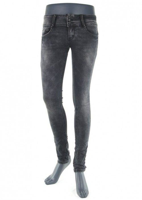 Hailys Camila Jeans Black enge Mädchen Jeans