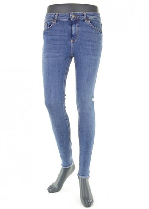 Delly Medium Blue Super Skinny Jeans Mädchen