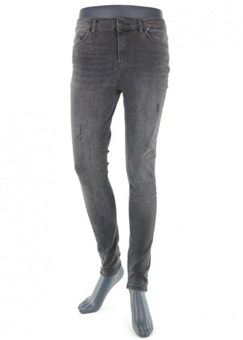 Delly Dark Grey Skinny Jeans für Mädchen
