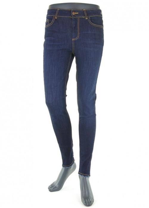 Delly Dark Blue enge Mädchen Jeans