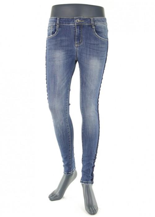 Hailys Jarina Medium Blue enge Jeans Mädchen