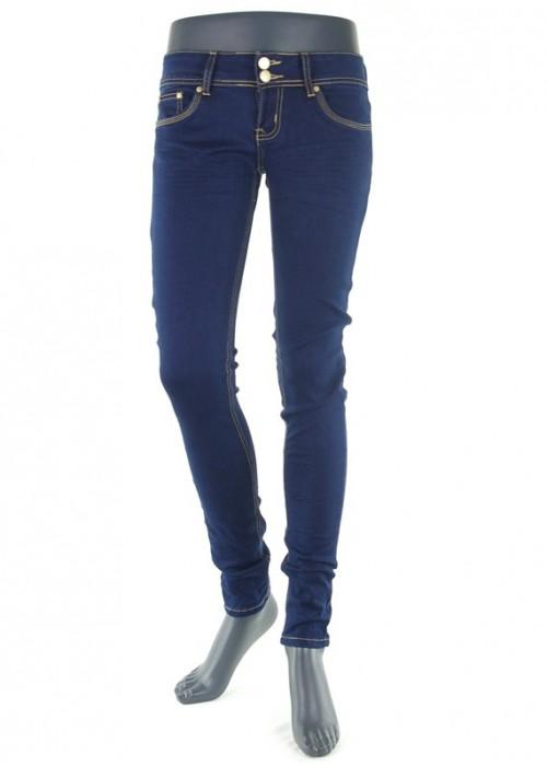 Hailys Kitty Dark Blue Super Skinny Jeans für Mädchen