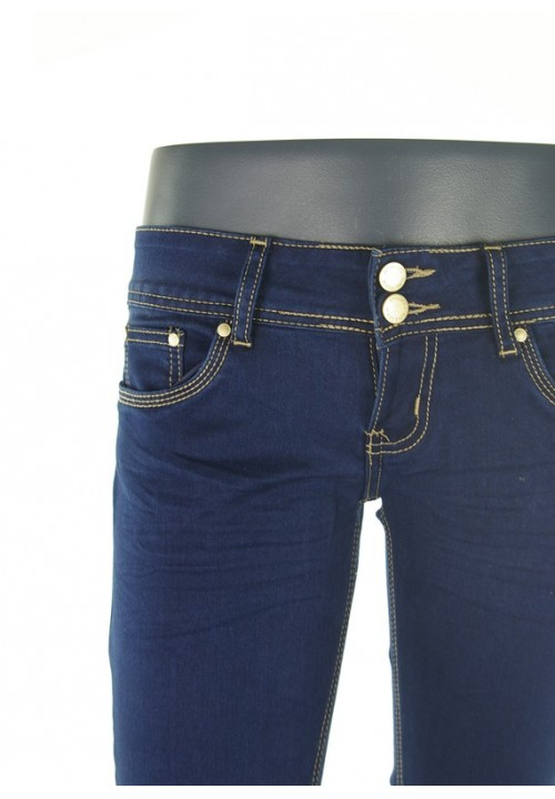 Kitty Dark Blue Denim