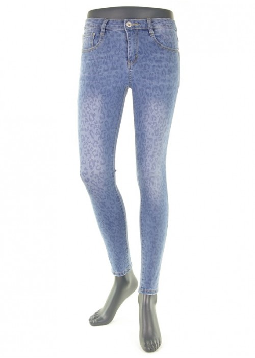 Leona Blue enge Mädchen Jeans