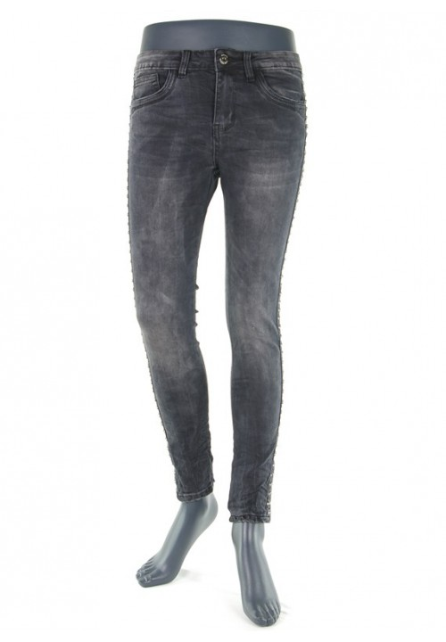 Lonie Dark Grey Denim
