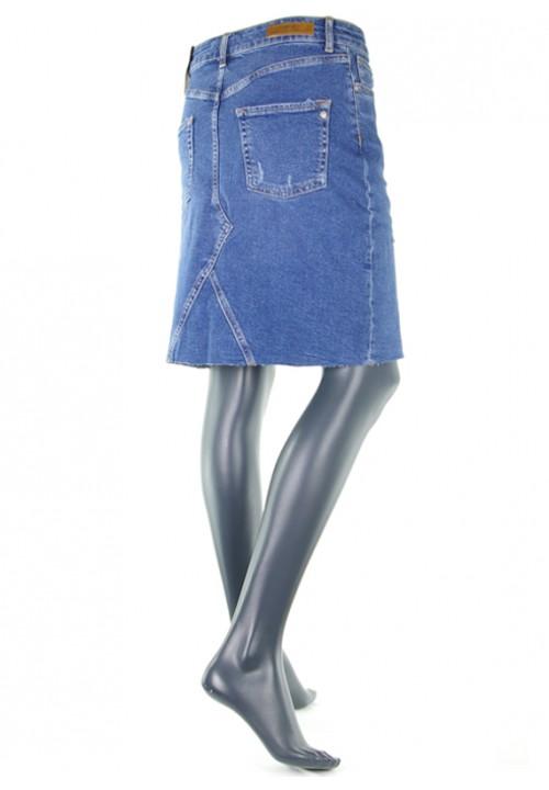 Lucy Dark Blue Vintage Jeansrock