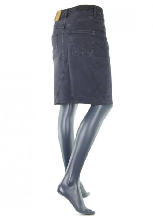 Lucy Black Vintage Jeansrock