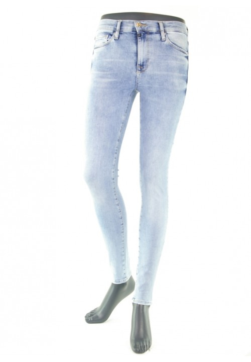 Sophia Light Blue Reshape Super Skinny