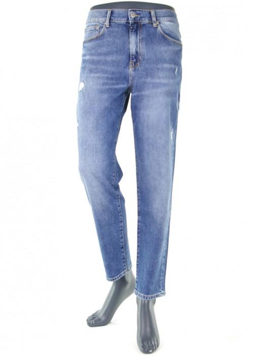 Lynn Blue Vintage Mädchen Jeans