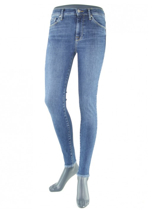 Lina Dark Blue Vintage Denim
