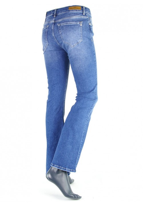 Laura Medium Blue Denim