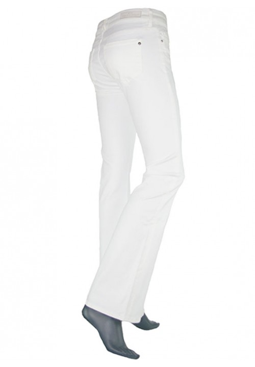 Laura White Denim Jeans