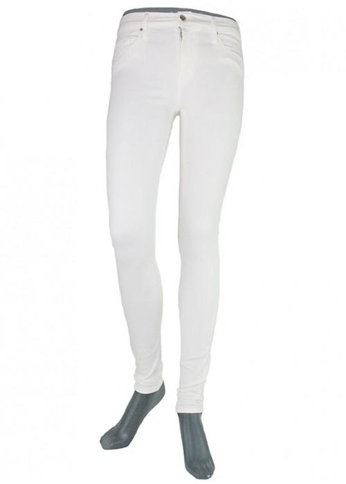 Sophia White High Waist Jeans