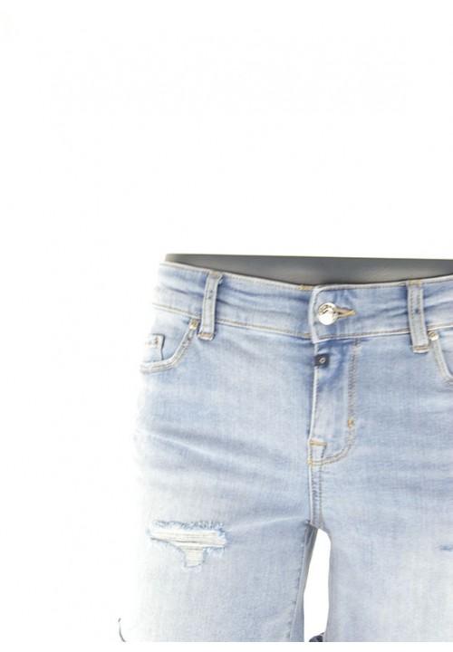 Emma Medium Blue Destroyed Shorts