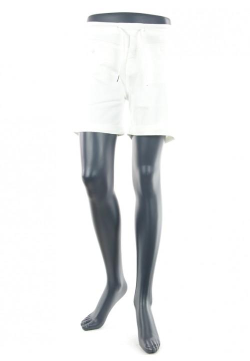 Anna Color White Jogging Short