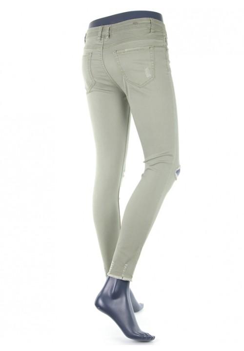 Luzi Khaki Skinny Jeans